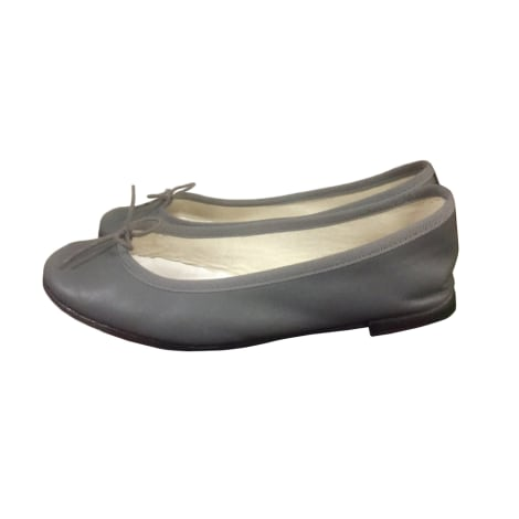 Ballet Flats REPETTO Gray, charcoal