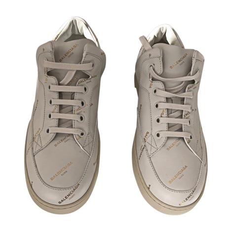 Scarpe da tennis BALENCIAGA Bianco, bianco sporco, ecru