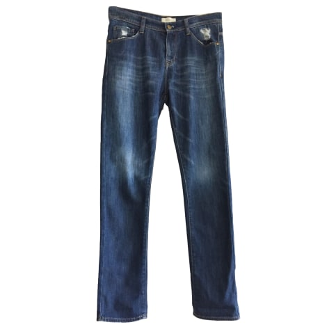 Jeans dritto BA&SH Blu, blu navy, turchese