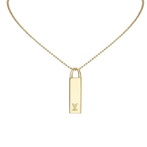 Collier LOUIS VUITTON Gold