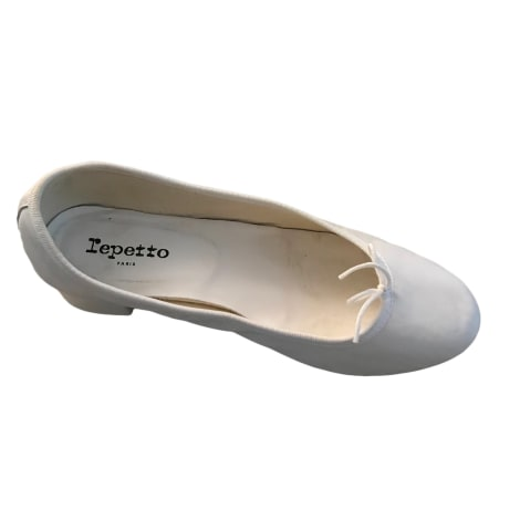 Ballet Flats REPETTO White, off-white, ecru
