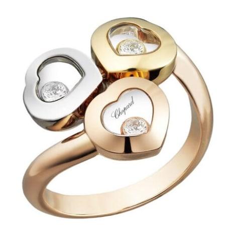 Ring CHOPARD Golden, bronze, copper