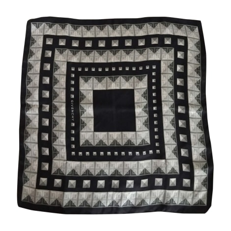 Foulard GIVENCHY Gris, anthracite