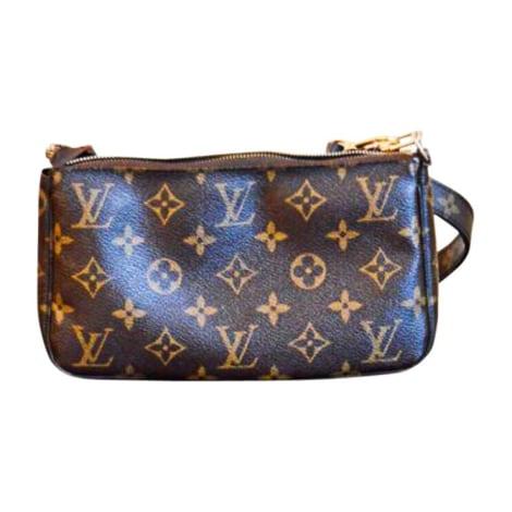 Non-Leather Shoulder Bag LOUIS VUITTON Brown