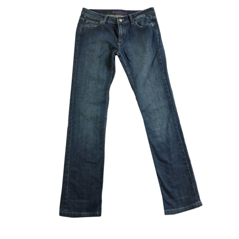 Jeans dritto ZADIG & VOLTAIRE Blu, blu navy, turchese