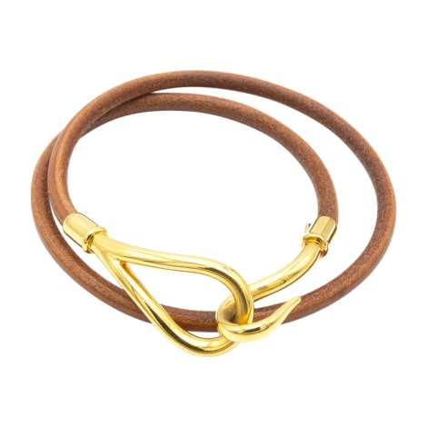 Bracelet HERMÈS Golden, bronze, copper