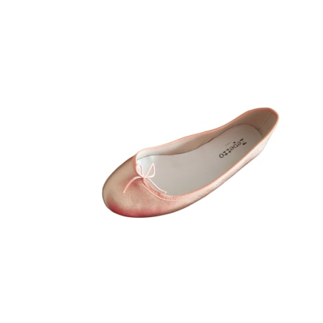 Ballet Flats REPETTO Golden, bronze, copper