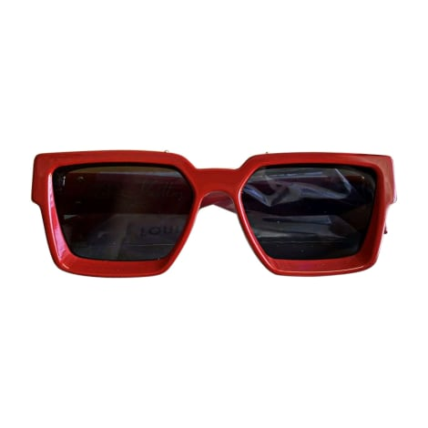 Sunglasses LOUIS VUITTON Red, burgundy