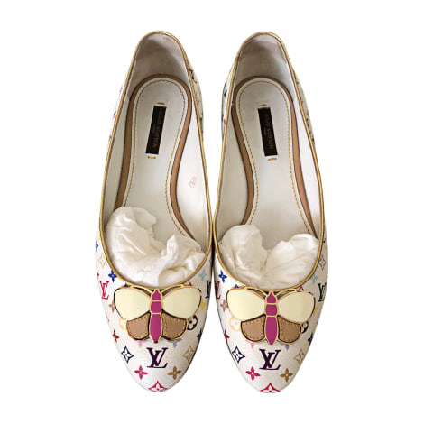 Ballet Flats LOUIS VUITTON White, off-white, ecru