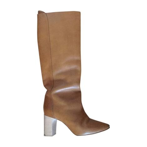 Stivali con tacchi CHLOÉ Beige, cammello