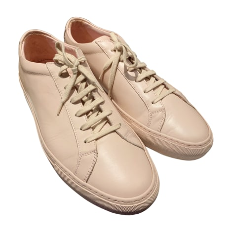Baskets COMMON PROJECTS Rose, fuschia, vieux rose