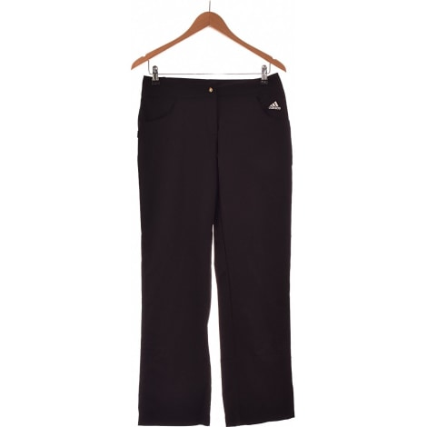 Straight Leg Pants ADIDAS Black