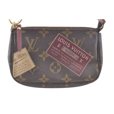 Non-Leather Shoulder Bag LOUIS VUITTON Brown