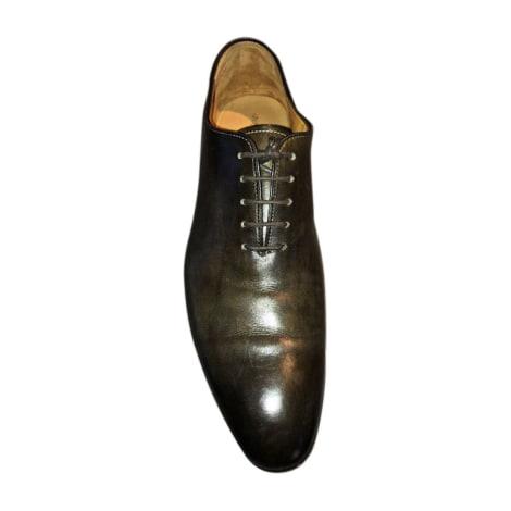 Chaussures à lacets CARLOS SANTOS Vert - Terre