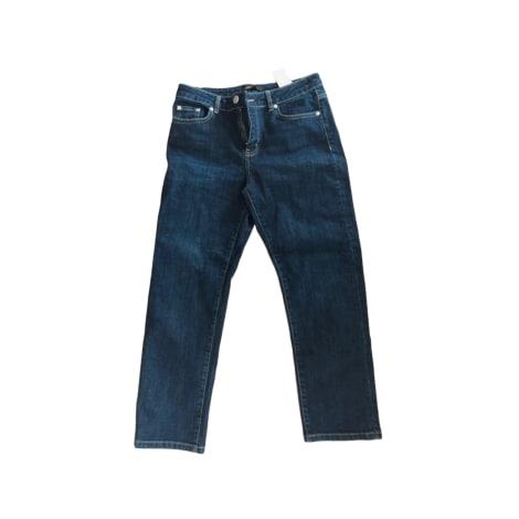 Jeans largo, boyfriend MAJE Blu, blu navy, turchese