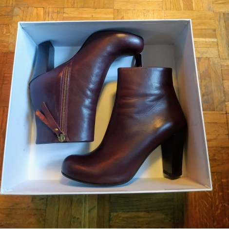 Bottines & low boots à talons & OTHER STORIES Prune