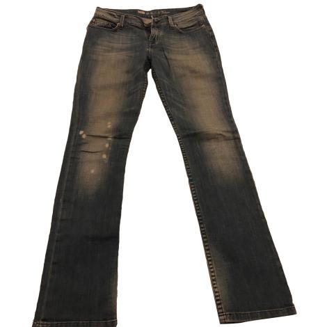 Jeans évasé, boot-cut ZADIG & VOLTAIRE Bleu, bleu marine, bleu turquoise