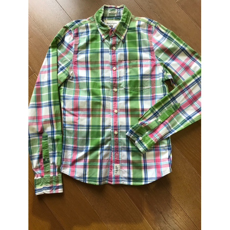 Chemise ABERCROMBIE & FITCH Vert