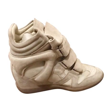 Baskets ISABEL MARANT Beige, camel