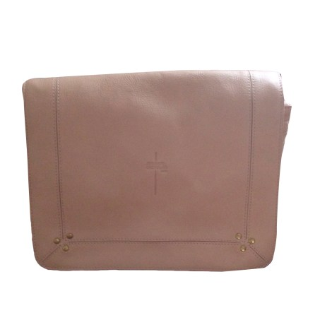 Borsa a tracolla in pelle JEROME DREYFUSS Nude