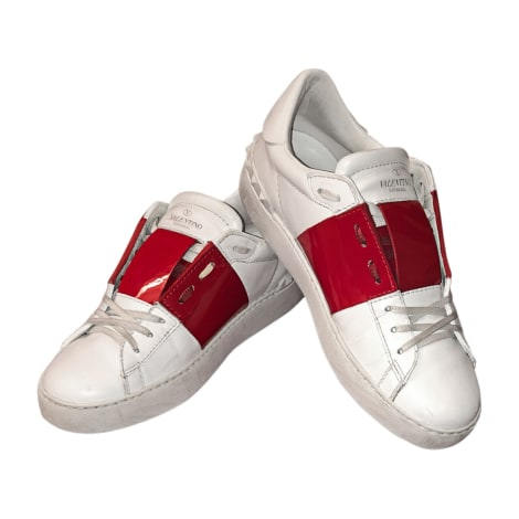 Baskets VALENTINO Blanc, blanc cassé, écru
