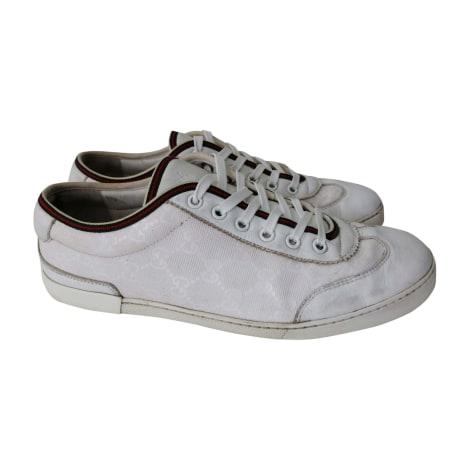 Scarpe da tennis GUCCI Bianco, bianco sporco, ecru