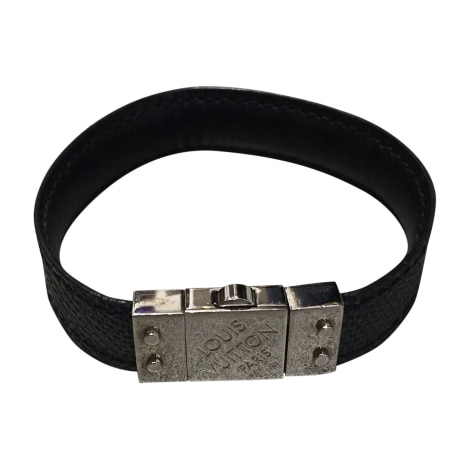 Bracelet LOUIS VUITTON Gray, charcoal