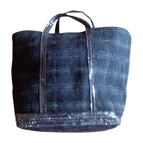Non-Leather Oversize Bag VANESSA BRUNO Blue, navy, turquoise