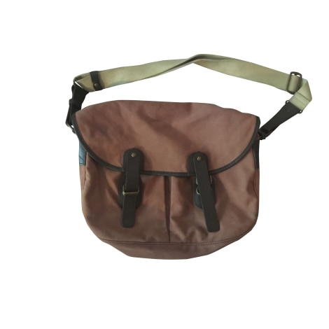 Non-Leather Shoulder Bag UPLA Brown