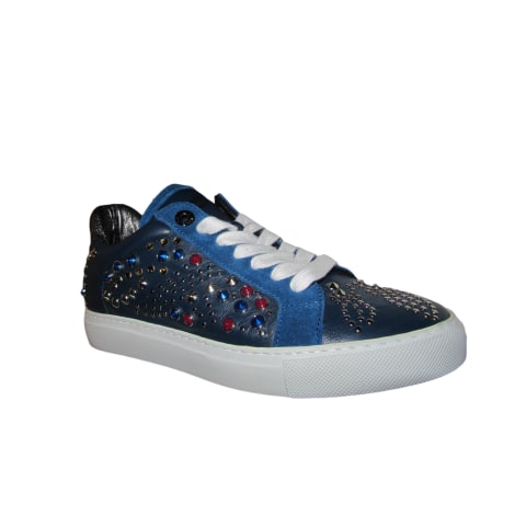 Sneakers ZADIG & VOLTAIRE Blue, navy, turquoise