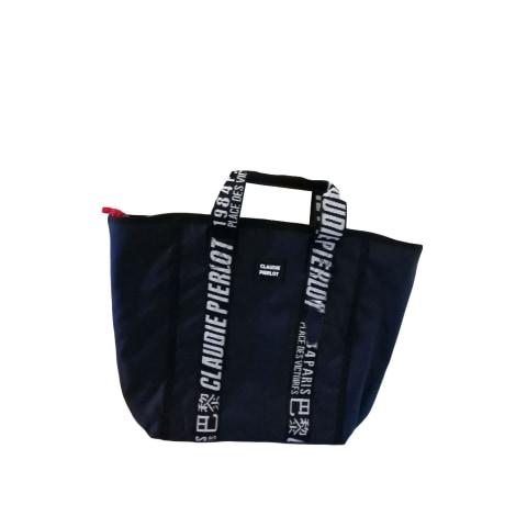 Non-Leather Handbag CLAUDIE PIERLOT Blue, navy, turquoise