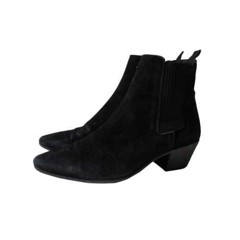 Bottines & low boots à talons MAJE Noir