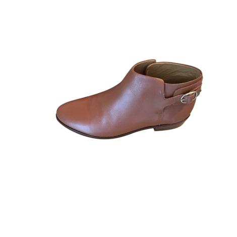 Bottines & low boots plates SÉZANE Beige, camel