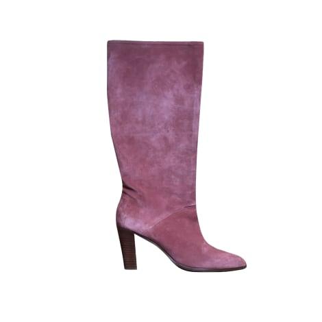 Stivali con tacchi SÉZANE Rosa, fucsia, rosa antico