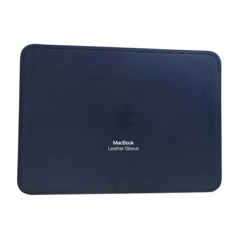 Briefcase, folder APPLE Blue, navy, turquoise