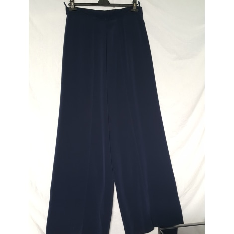 Pantalon très evasé, patte d'éléphant CHACOK Bleu, bleu marine, bleu turquoise