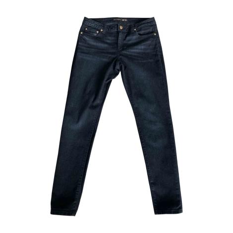 Jeans slim MICHAEL KORS Bleu, bleu marine, bleu turquoise