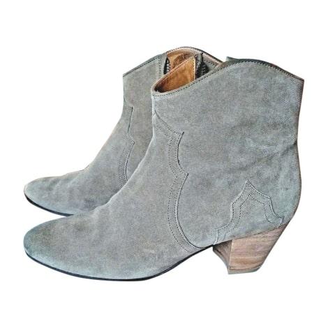 Bottines & low boots à talons ISABEL MARANT Taupe