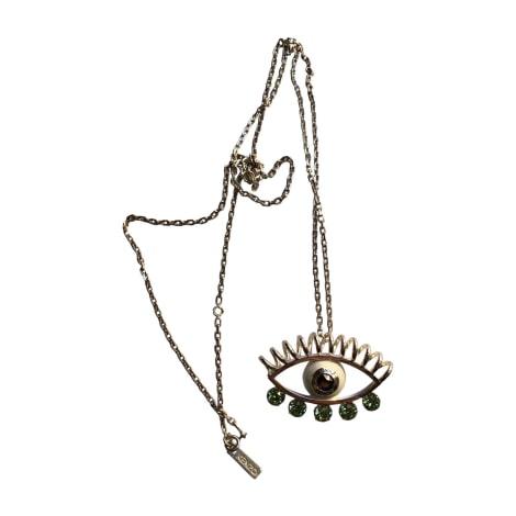 Halsketten KENZO Silberfarben, stahlfarben