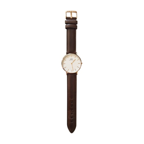 Wrist Watch DANIEL WELLINGTON Brown