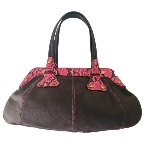 Non-Leather Handbag LANCEL Animal prints