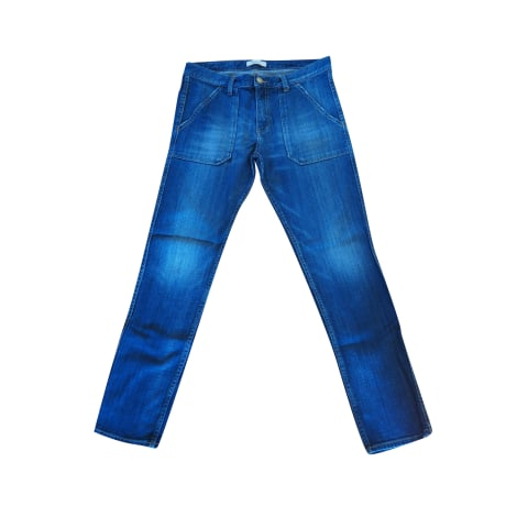 Jeans dritto BA&SH Blu, blu navy, turchese