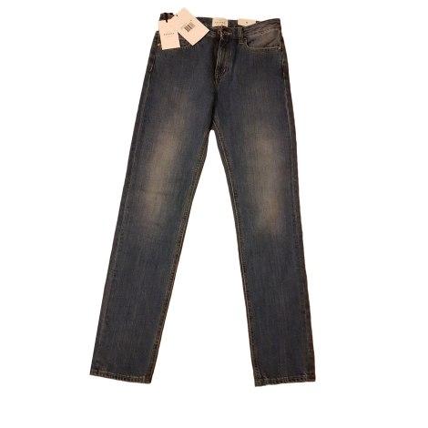 Jeans dritto SÉZANE Blu, blu navy, turchese