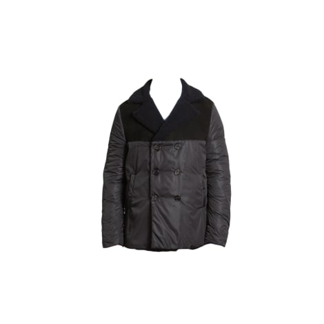 Pea Coat MELINDA GLOSS Black