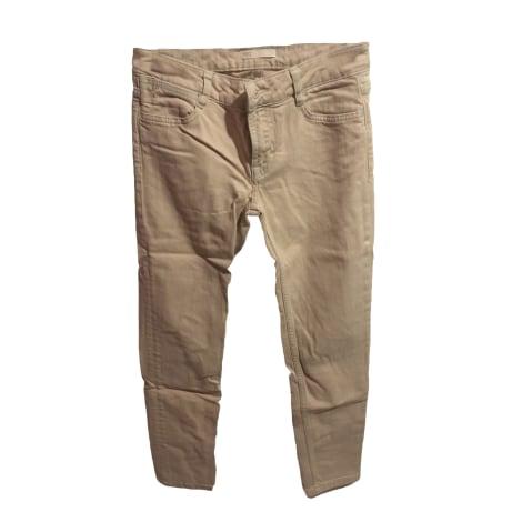 Jeans dritto MAJE Beige, cammello