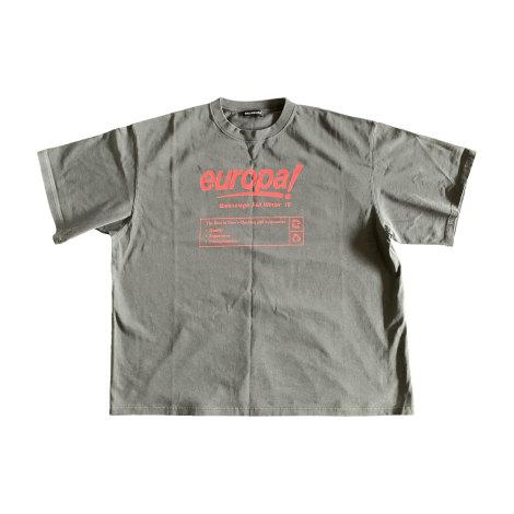 T-shirt BALENCIAGA Gray, charcoal