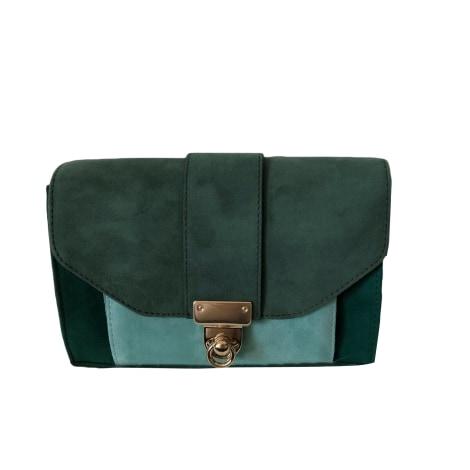Leather Handbag SÉZANE Green