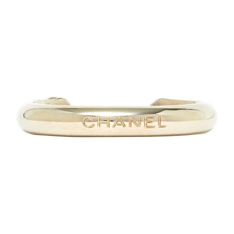 Bracelet CHANEL Argenté, acier