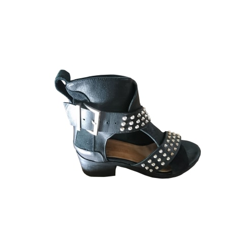 Heeled Sandals ZADIG & VOLTAIRE Black