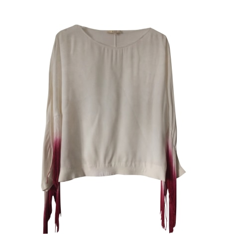 Blouse MAJE White, off-white, ecru